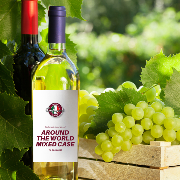 Around the World Red & White Mixed Case