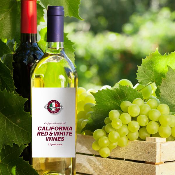 California Red & White Wine Case