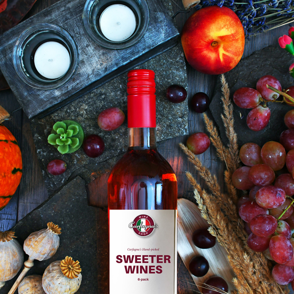 Sweet Wines (Red White & Rose) Value Pack