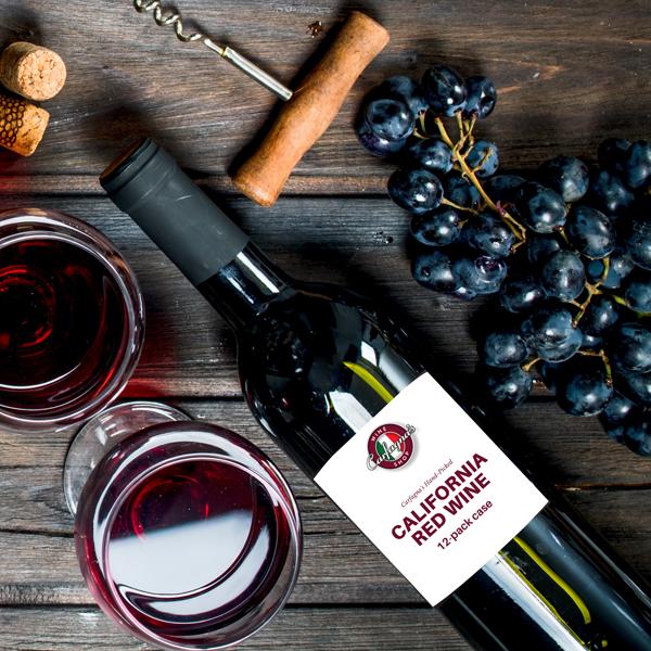 California Red Wine Case