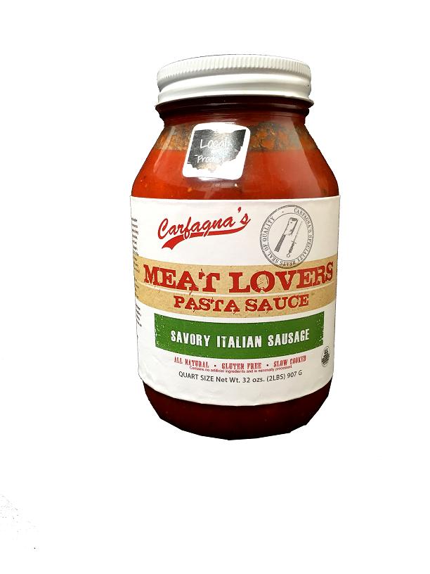 Meat Lover's Savory Italian Sausage Pasta Sauce